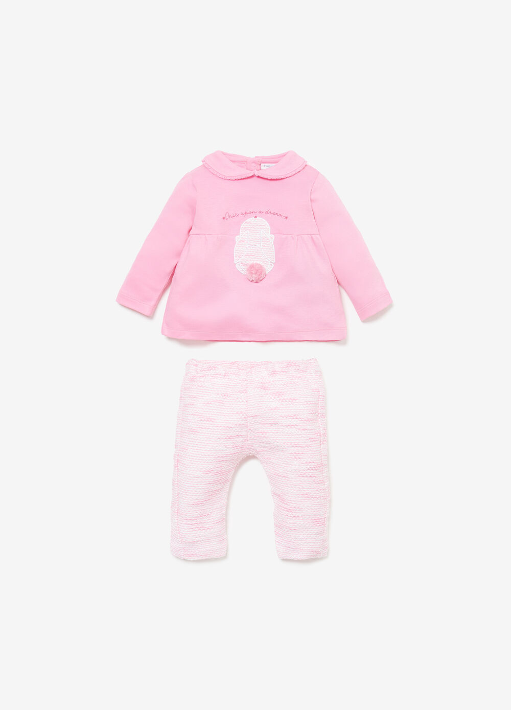 Rabbit T-shirt and trousers outfit