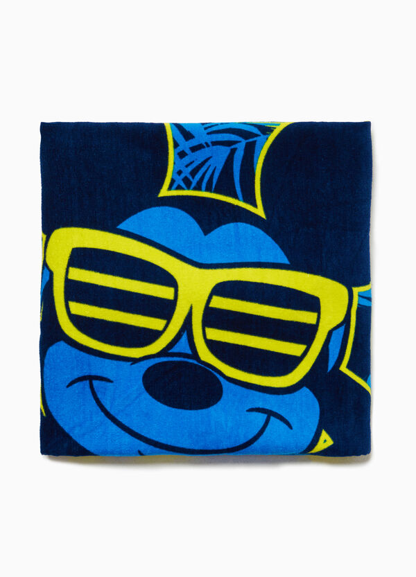 Cotton Mickey Mouse beach towel