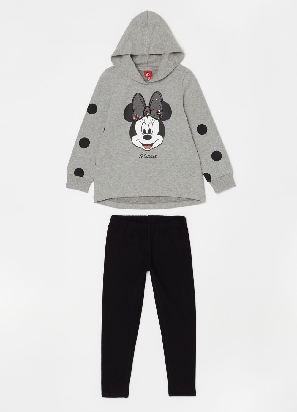 Disney Minnie Mouse jogging set with sweatshirt and leggings