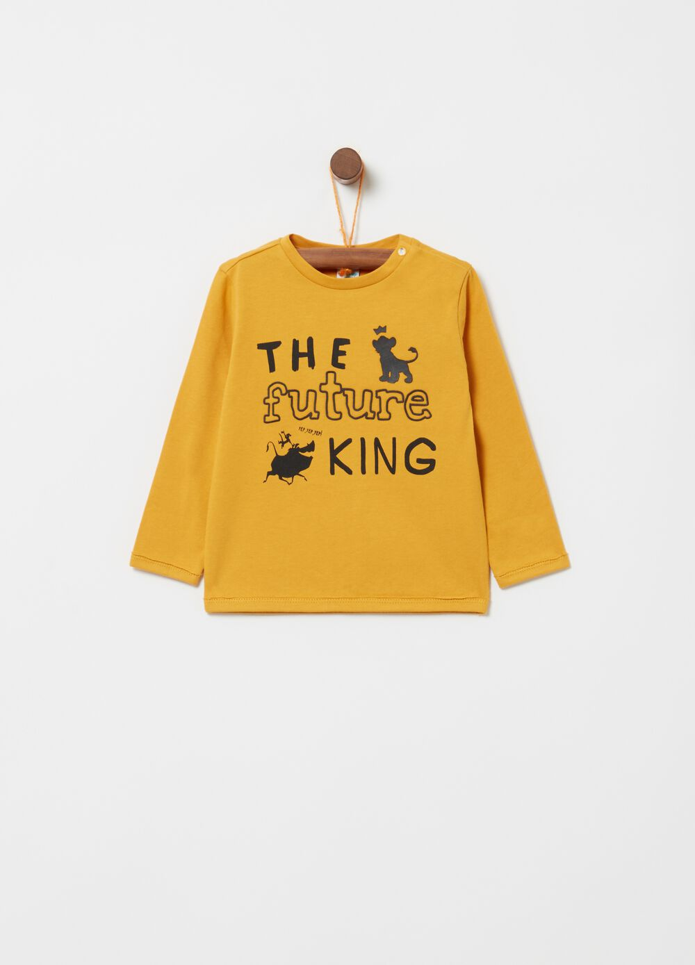 T-shirt in 100% cotton with Lion King print