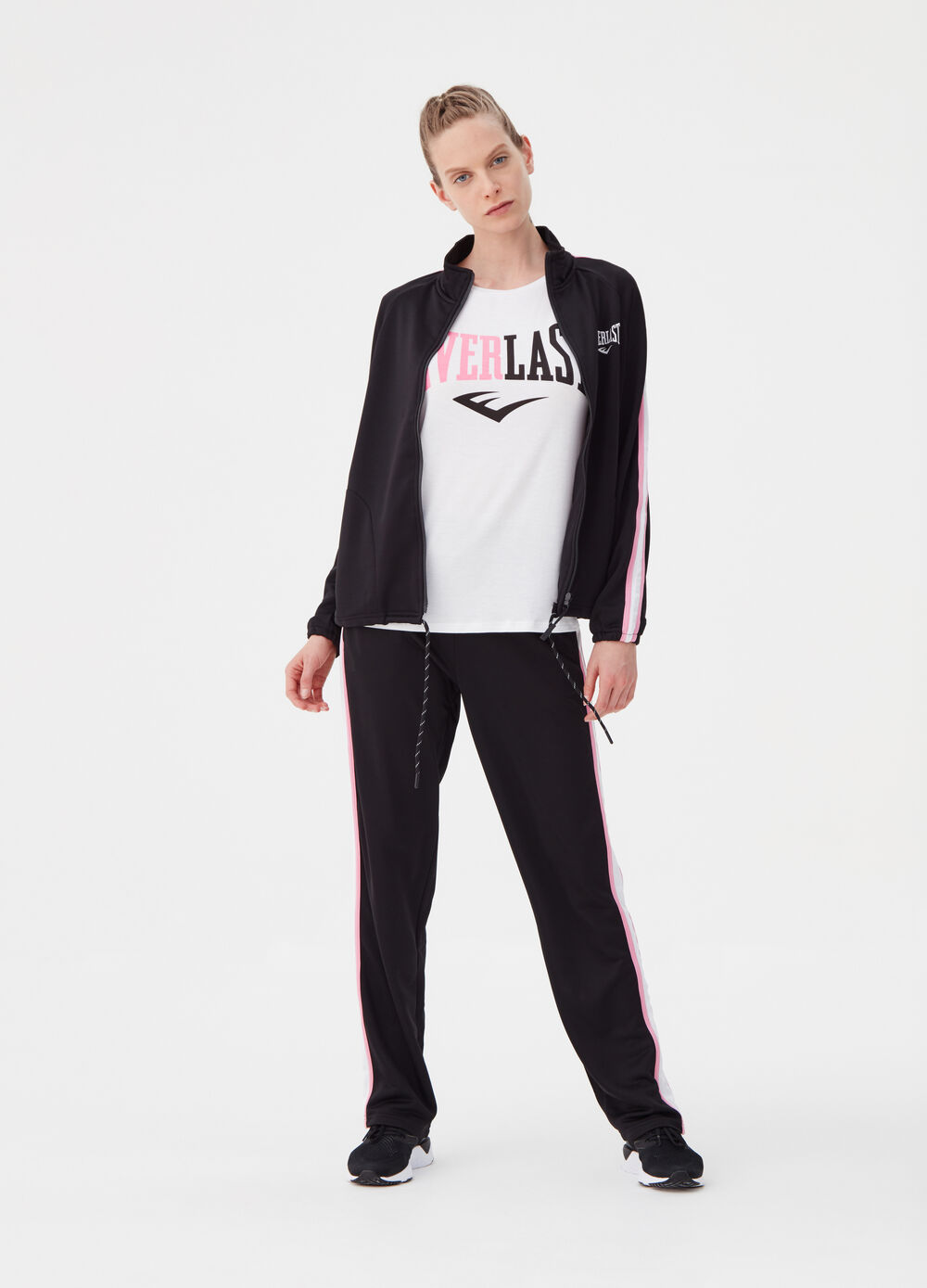 Everlast jogger trousers with striped band