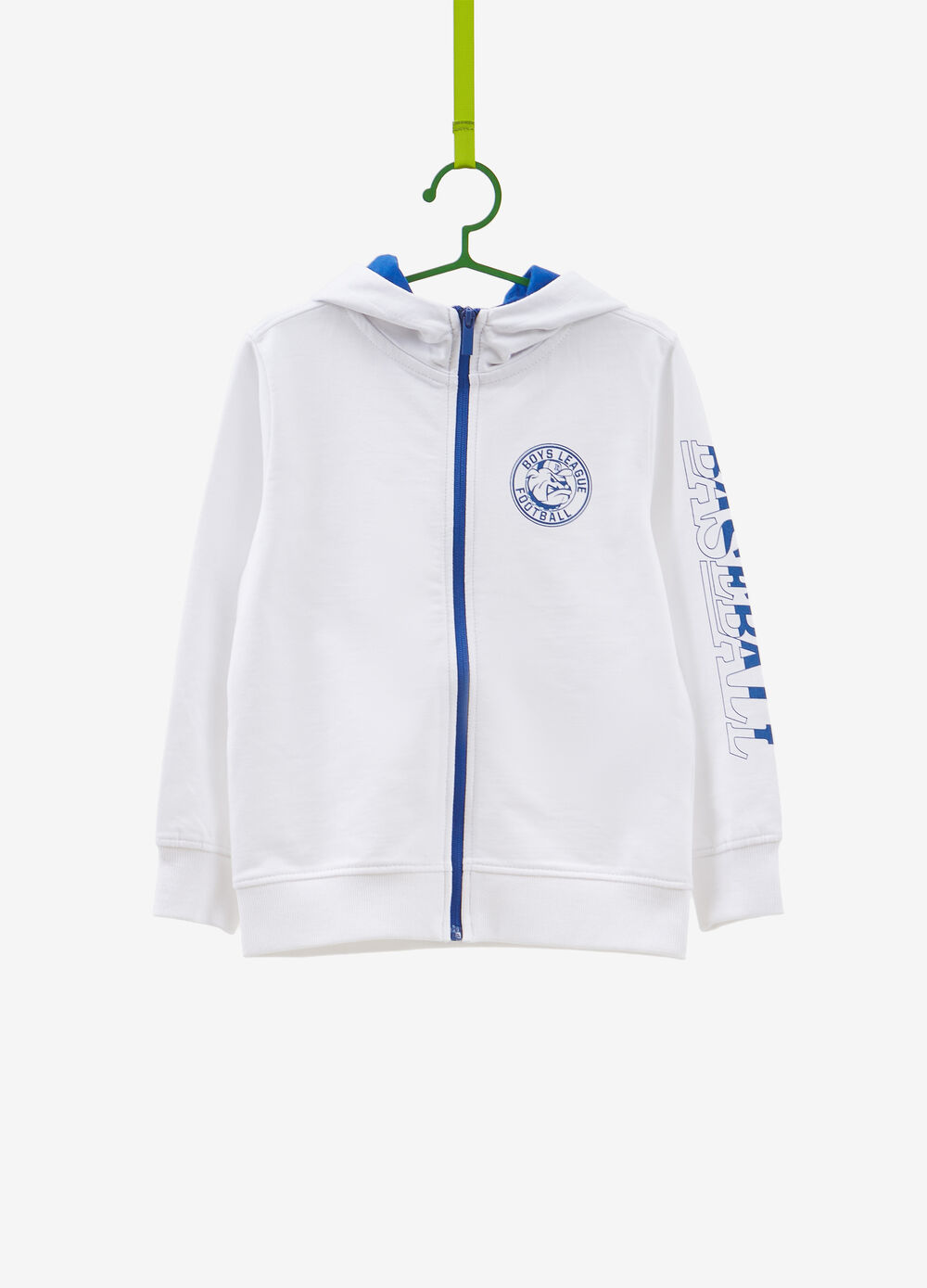 100% cotton hoodie with print