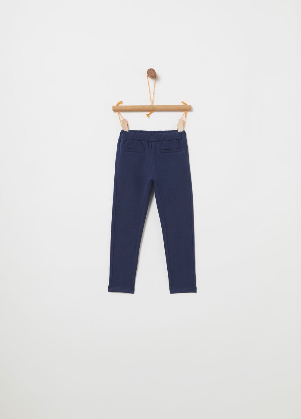 Non-gauzed lightweight fleece trousers
