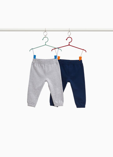 Two-pack joggers in cotton