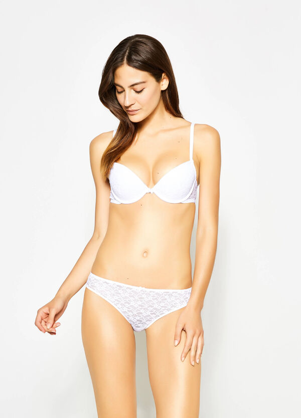 Lace briefs with bow   OVS