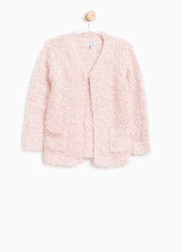 Knitted cardigan with lurex | OVS