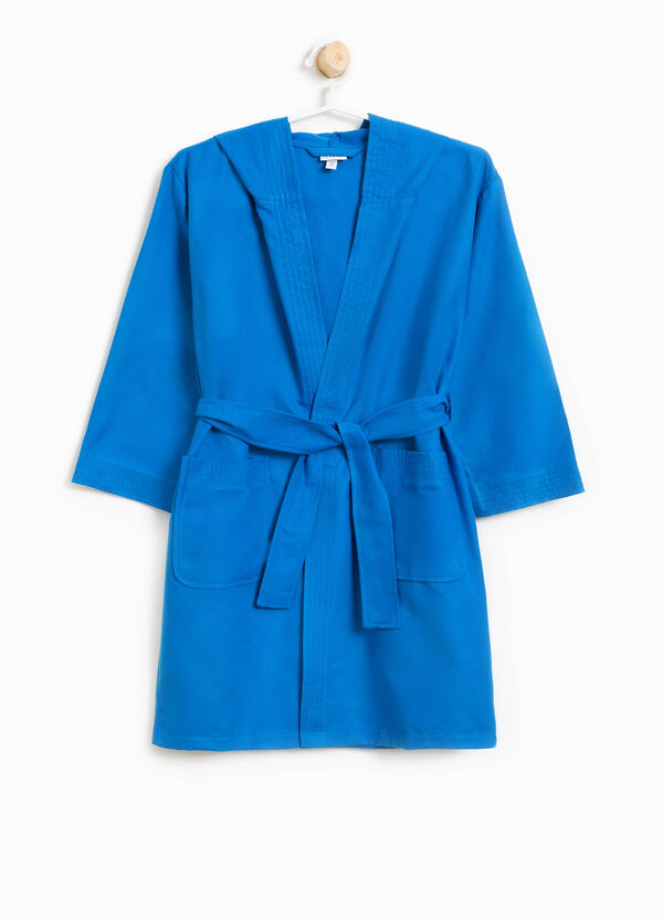 Bathrobe with belt and hood | OVS