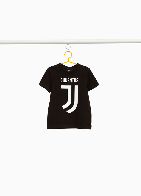 Juventus print T-shirt in 100% cotton