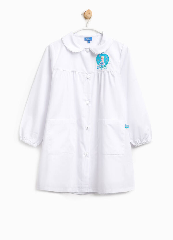 Cotton blend smock with Frozen patches | OVS