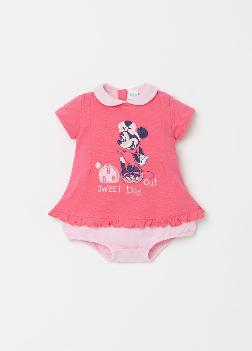 Disney Baby onesie with rounded collar