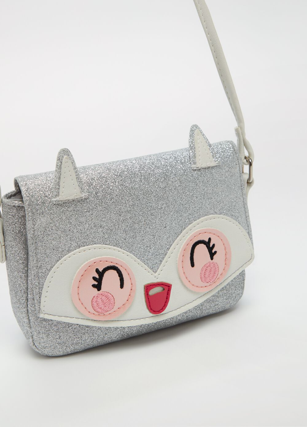 Small glitter shoulder bag