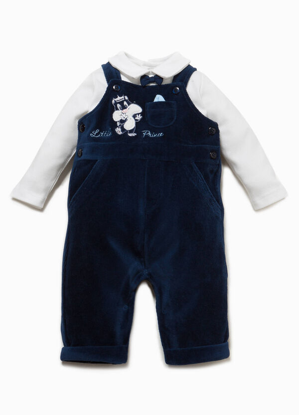 Baby Sylvester T-shirt and dungarees set | OVS