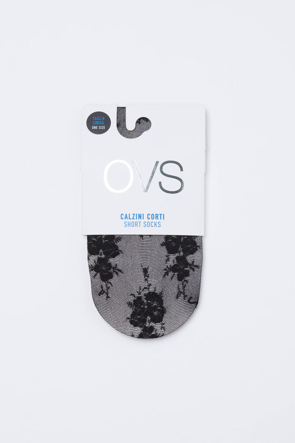 Stretch patterned pop socks | OVS