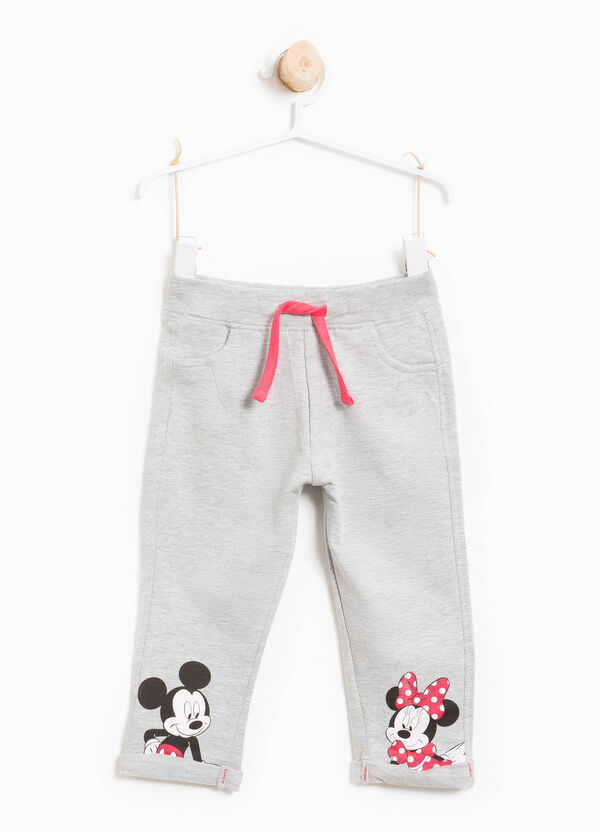 Mickey and Minnie Mouse print trousers. | OVS