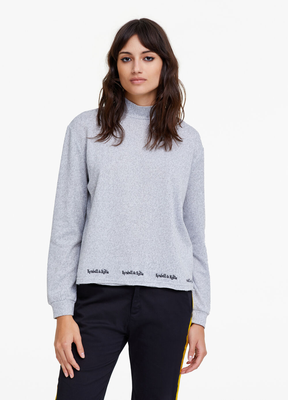K+K for OVS sweatshirt with high neck