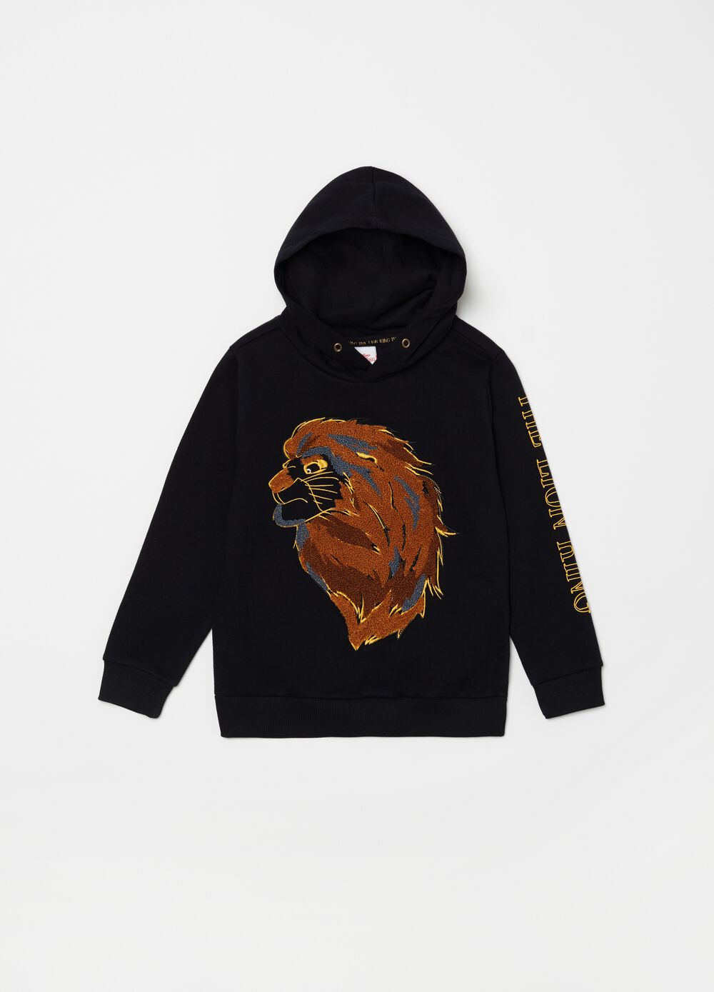 Disney The Lion King sweatshirt with embroidery and print