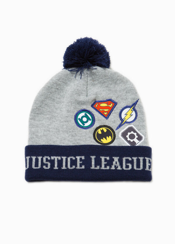 Justice League beanie cap with pompom | OVS