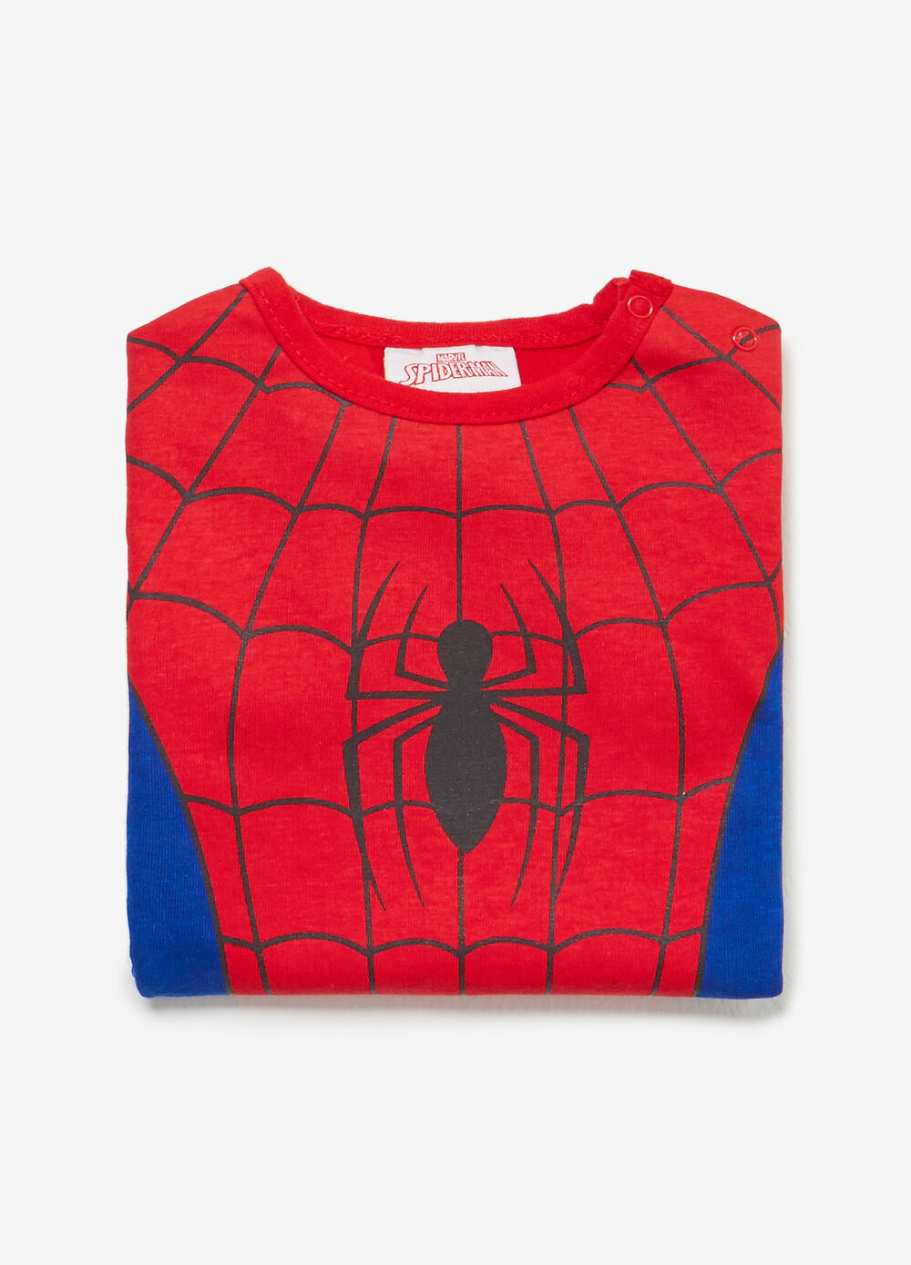 100% cotton Spiderman bodysuit