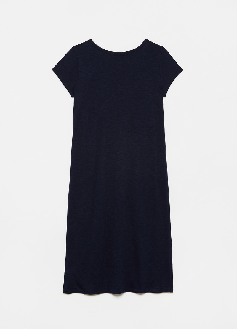 GAP cotton dress with logo print image number null