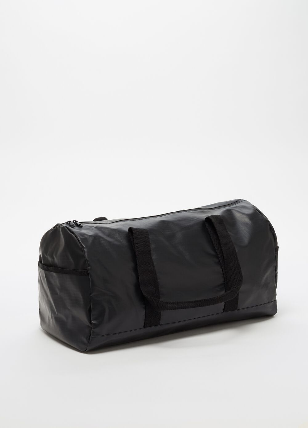 Large solid colour bag with handles