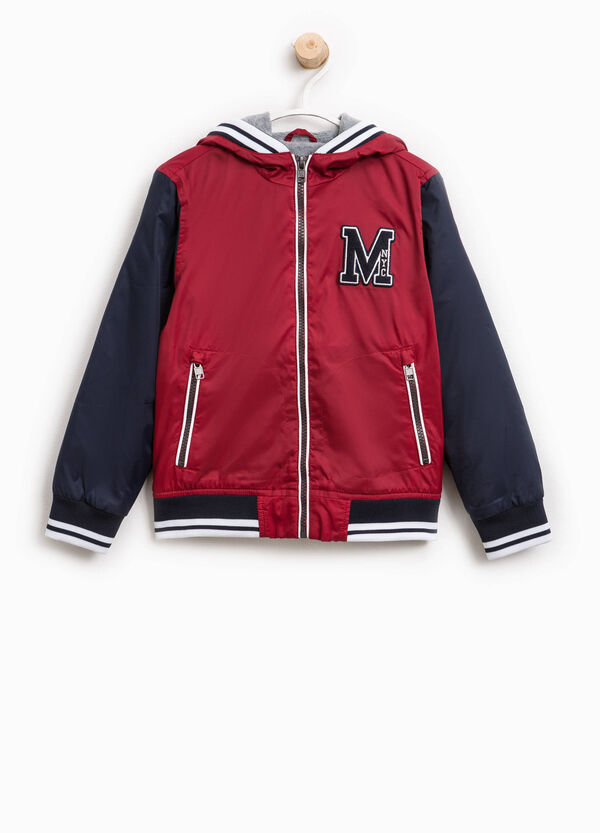 Jacket with hood and patches | OVS