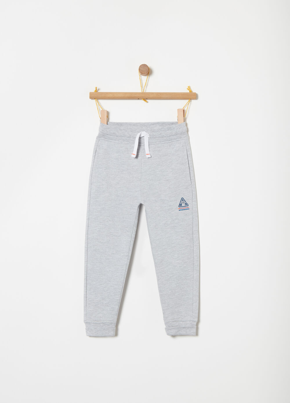 Fleece trousers with functional pockets