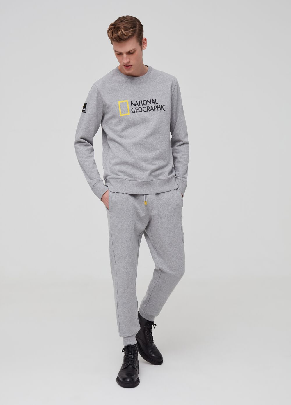 National Geographic mélange joggers