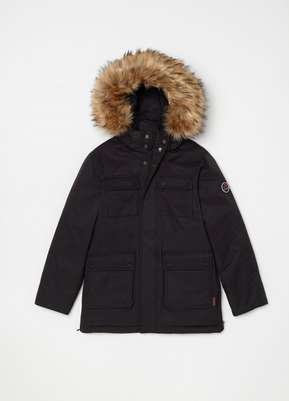 Altavia parka with hood and pockets
