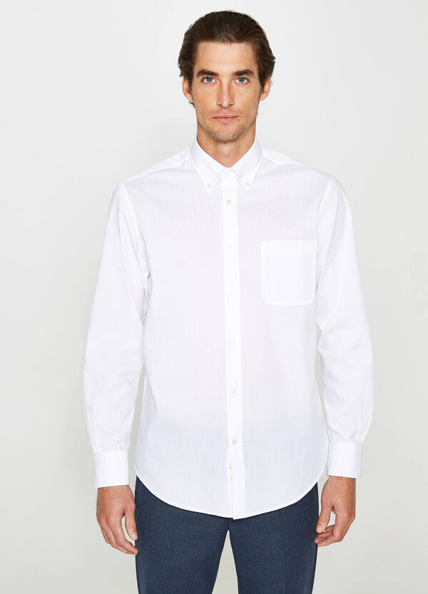 Regular-fit formal shirt