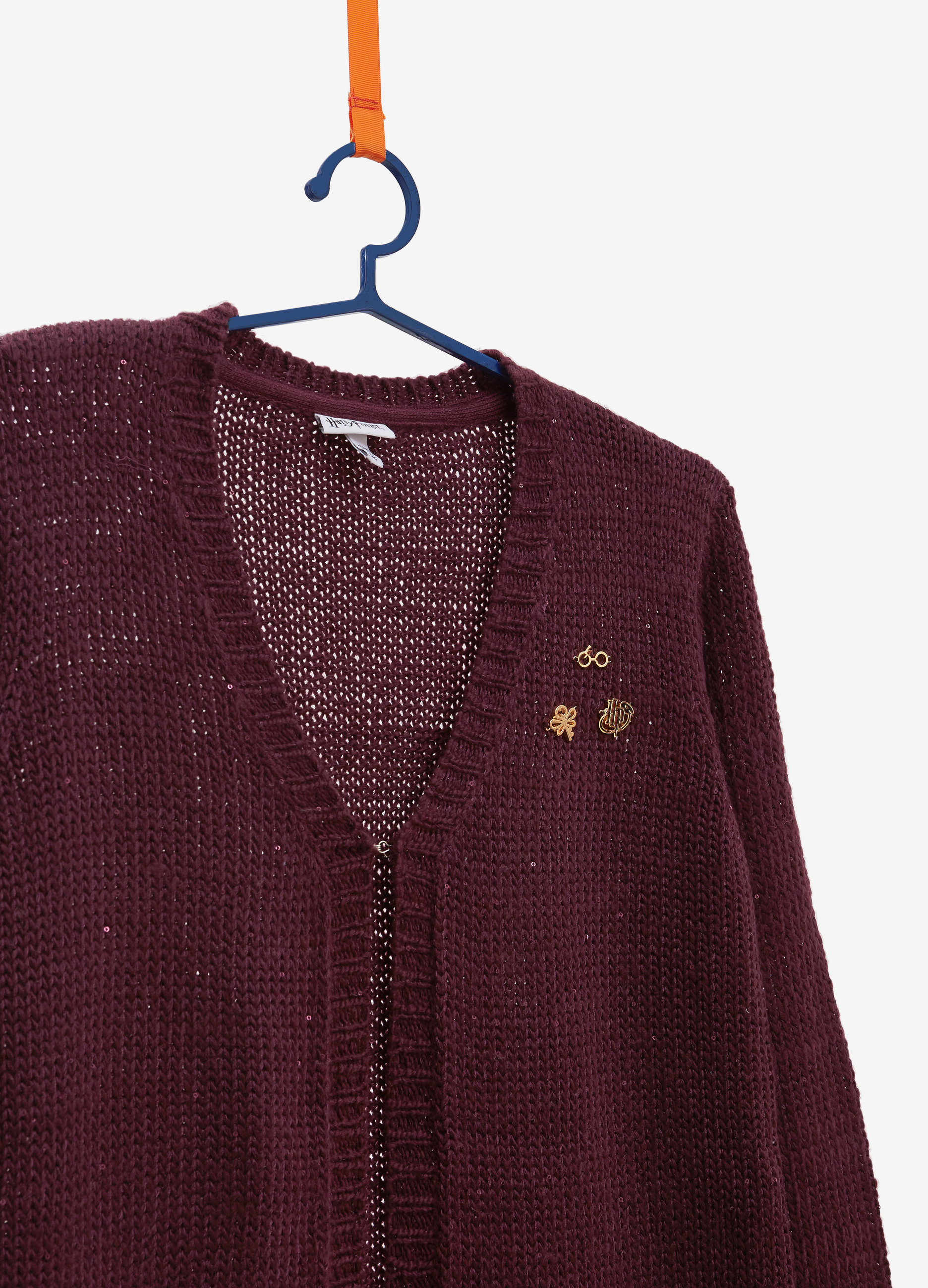 Knitted Cardigan With Harry Potter Patch Ovs