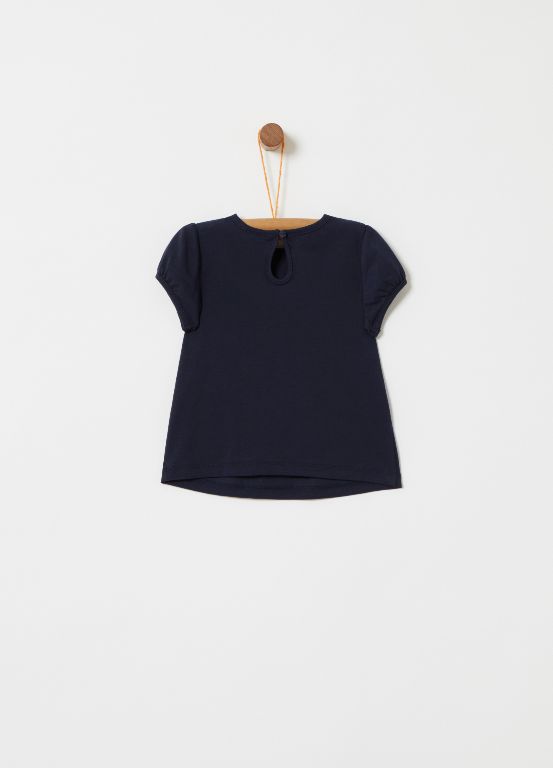 With And T Shirt DiamantésOvs Trim Tulle EY29HWDI