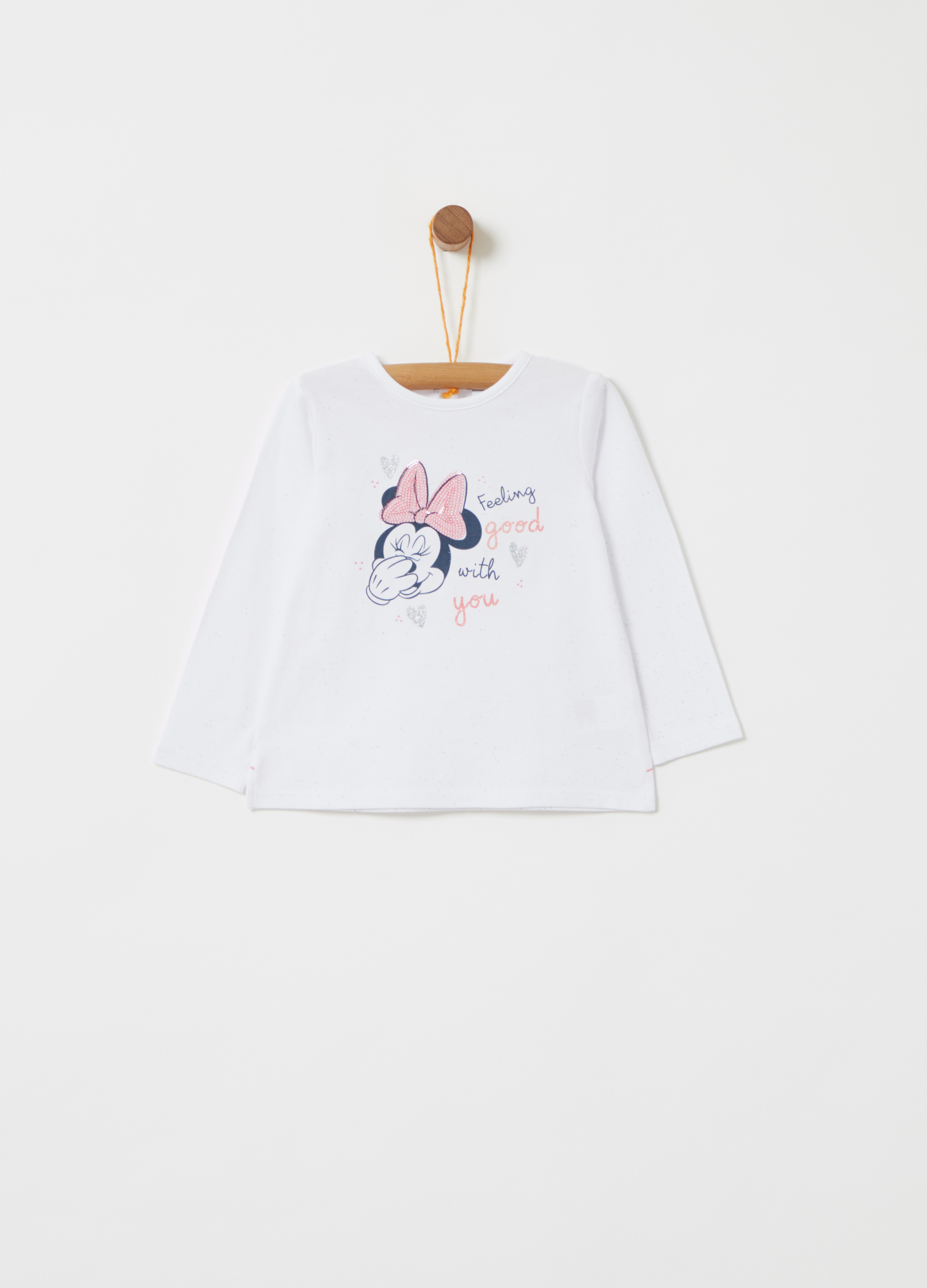 2f0d9e52c357 Disney Baby Minnie Mouse T-shirt with sequins | OVS