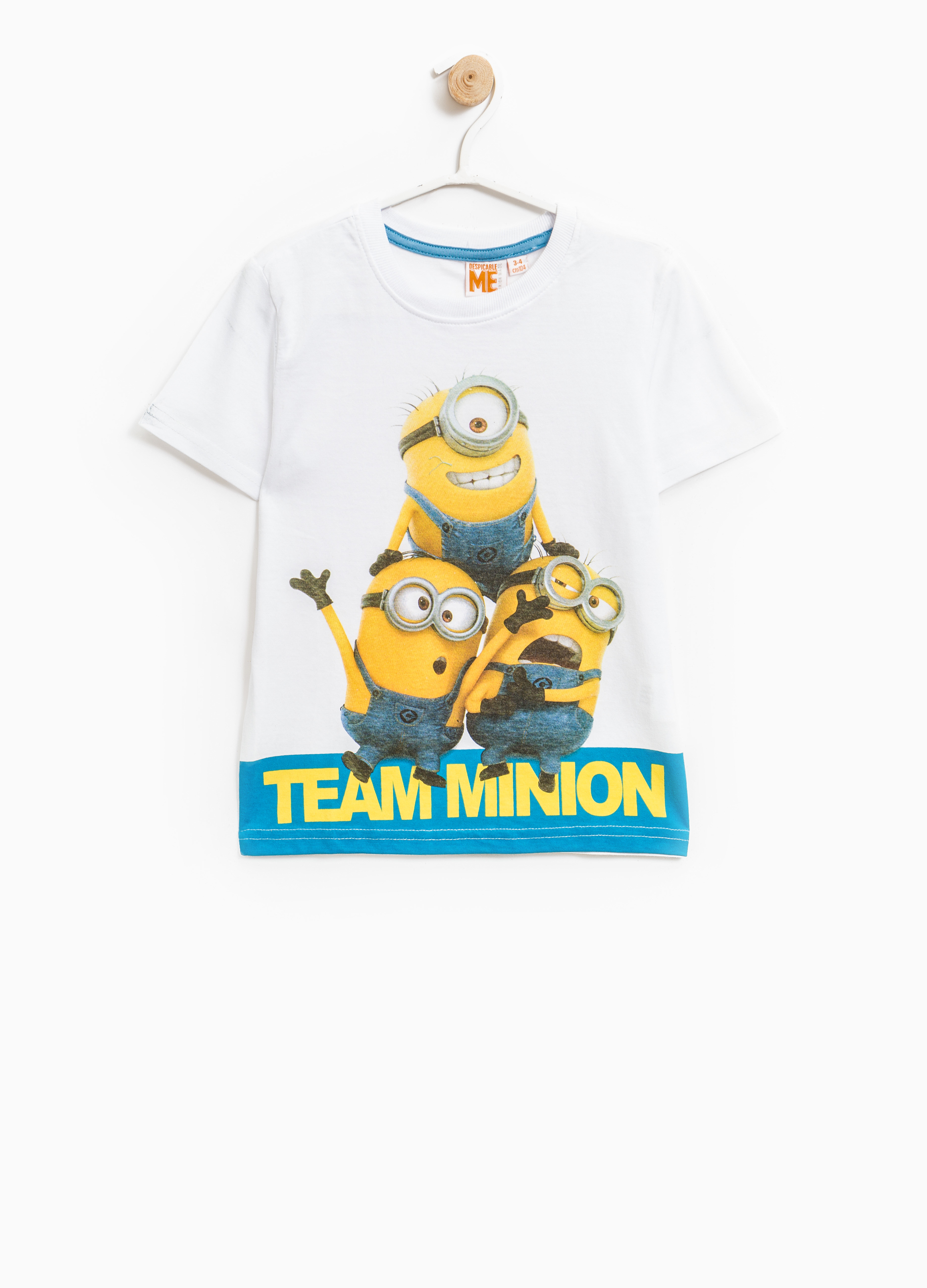 Official Minions Overall Dress Up T Shirt Top 2-3 4-5 /& 6-7 Years Despicable Me