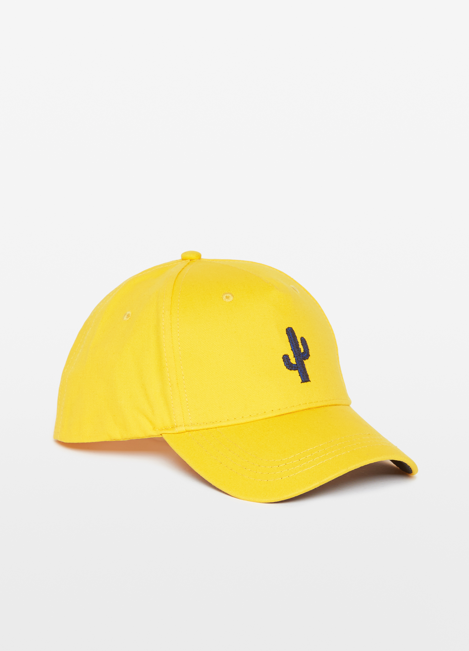 Baseball cap with embroidered cactus  eeeef026395