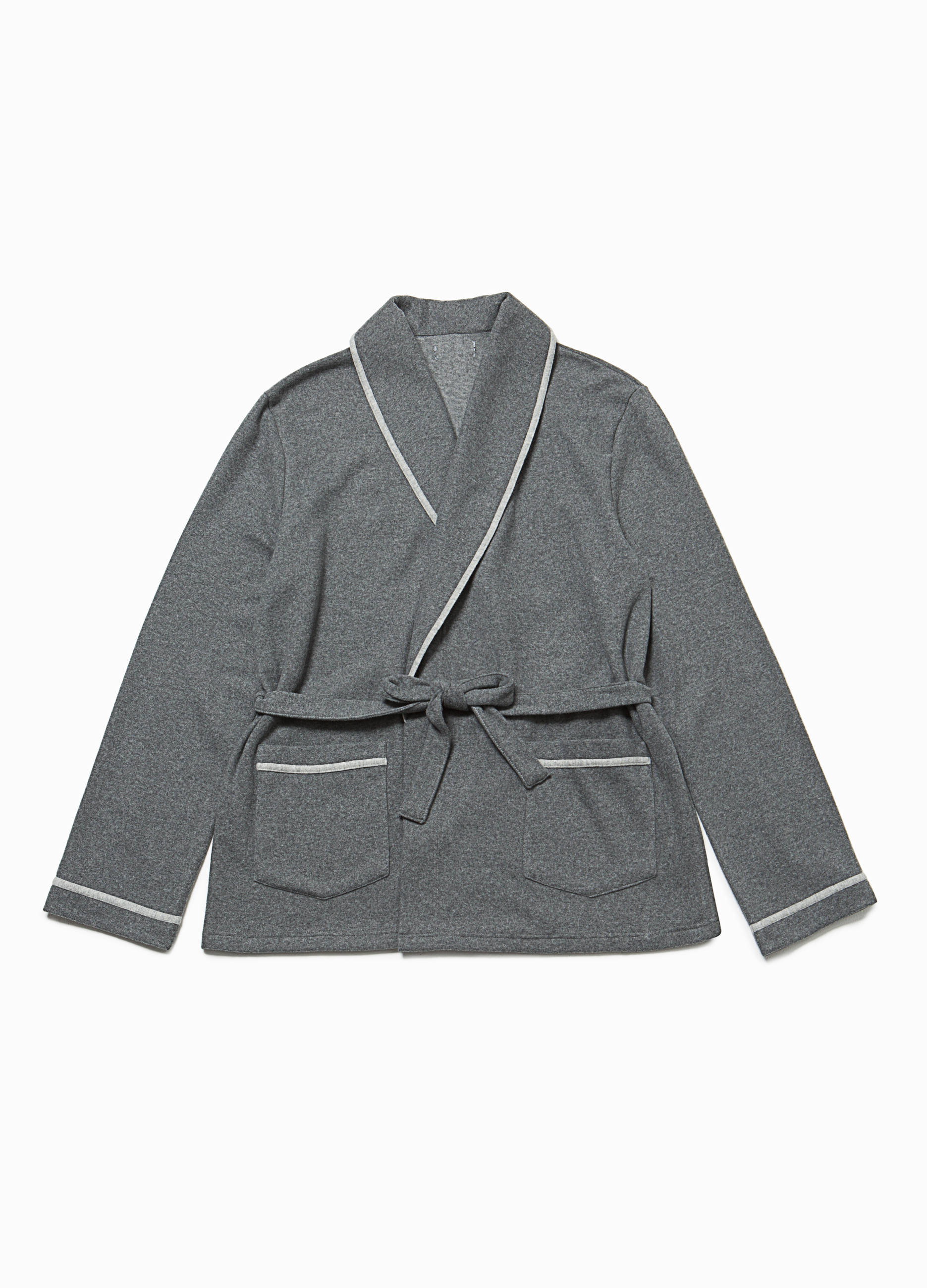 69d36a03c1eda 100% cotton dressing gown with piping