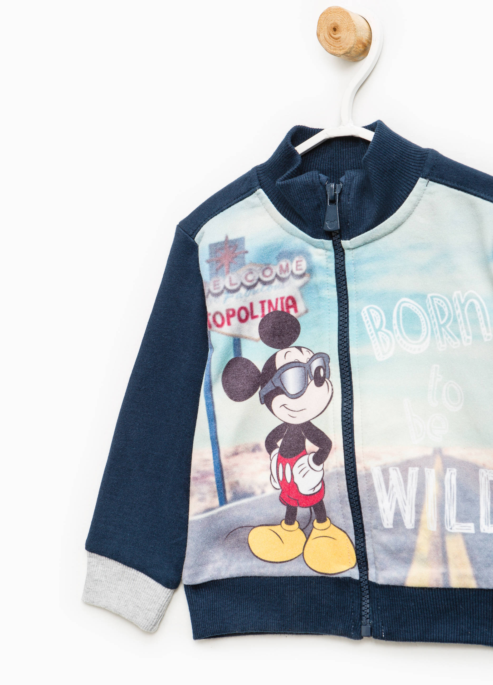 29e0cc43f Cotton tracksuit with Mickey Mouse print | OVS