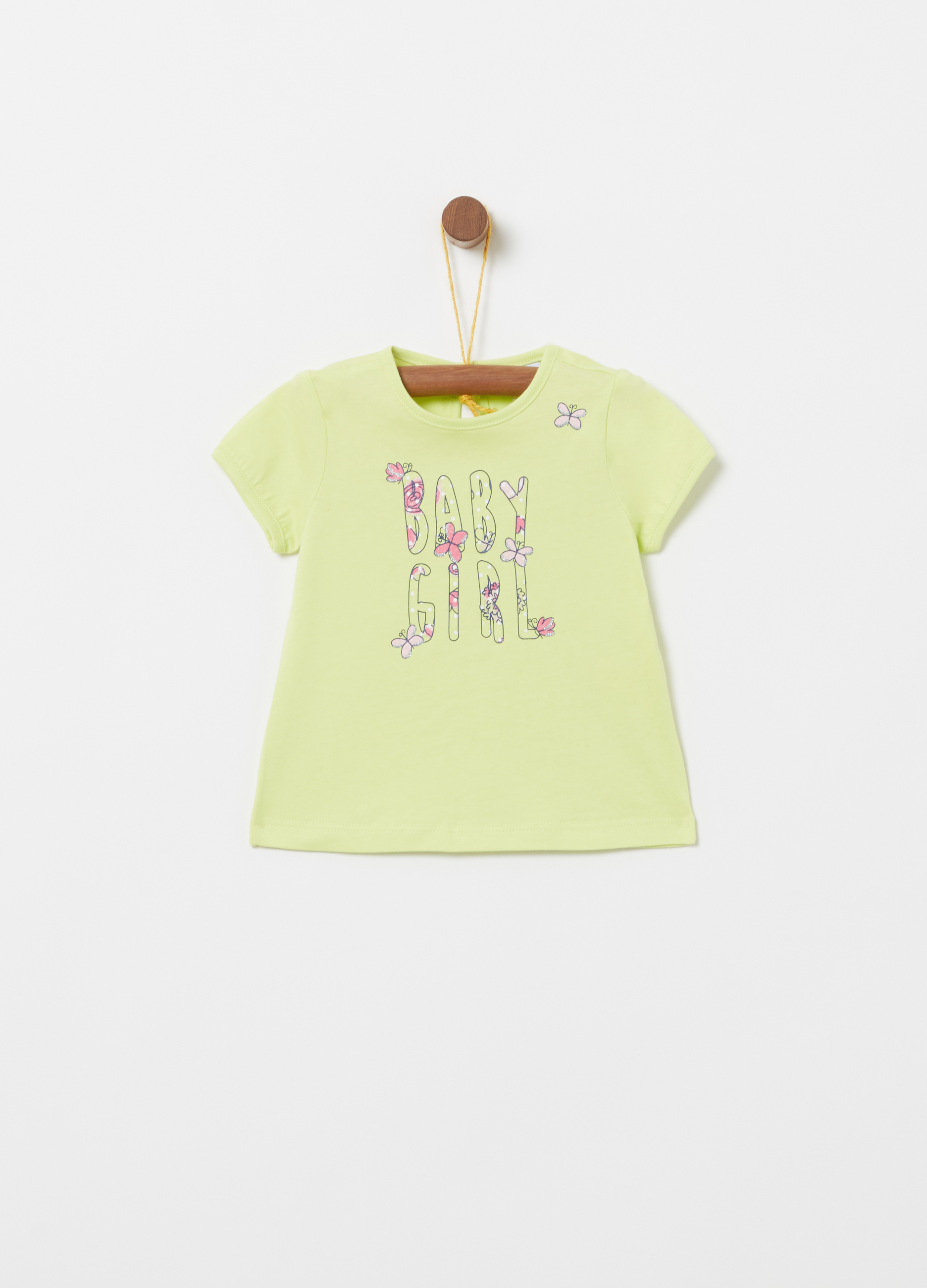 T-shirt in organic cotton jersey with print