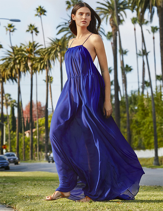 e545f3188a19 Protagonist of the new OVS campaign with its international flair is Italian  top model Bianca Balti with her beauty