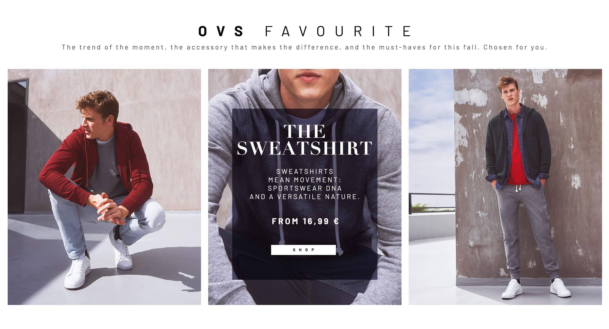 Women, Men and Kid's Clothes Online: Shop the Fashion | OVS